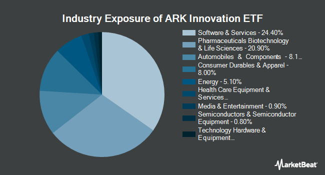 Industry Exposure of ARK Innovation ETF (NYSEARCA:ARKK)