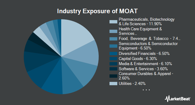 Industry Exposure of VanEck Vectors Wide Moat ETF (NYSEARCA:MOAT)