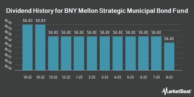Dividend Payments by Quarter for Dreyfus Strategic Municipal Bond Fund (NYSE:DSM)