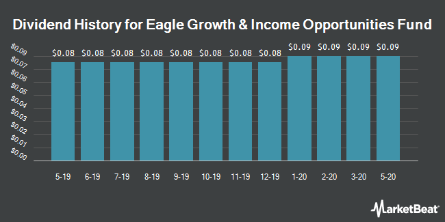 Dividend Payments by Quarter for Eagle Growth & Income Opportunities Fund (NYSE:EGIF)