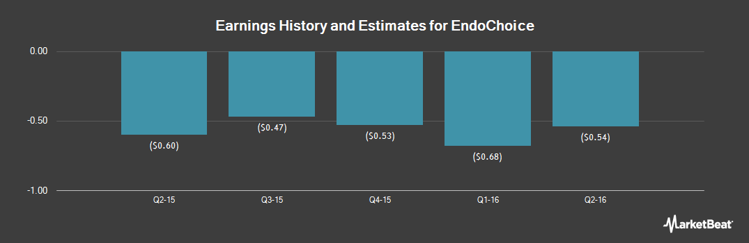 Earnings by Quarter for EndoChoice (NYSE:GI)