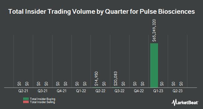 Insider Trades by Quarter for Pulse Biosciences (NASDAQ:PLSE)