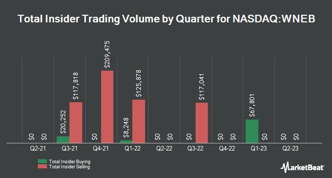 Insider Trades by Quarter for Western New England Bancorp (NASDAQ:WNEB)