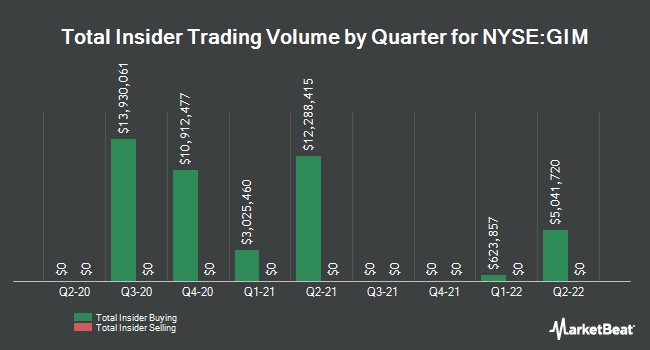 Insider Trading History for Templeton Global Income Fund (NYSE:GIM)