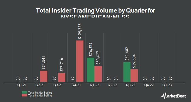 Insider Trades by Quarter for Milestone Scientific (NYSEAMERICAN:MLSS)
