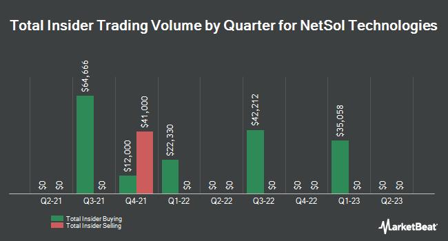 Insider Trading History for NetSol Technologies (NASDAQ:NTWK)