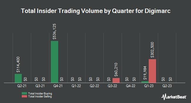 Insider Trades by Quarter for Digimarc (NASDAQ:DMRC)